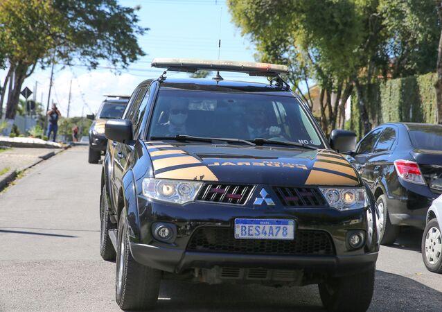Viatura da Polícia Federal (imagem referencial)