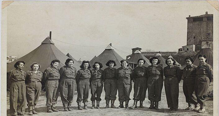 Enfermeiras brasileiras na 2ª Guerra Mundial.