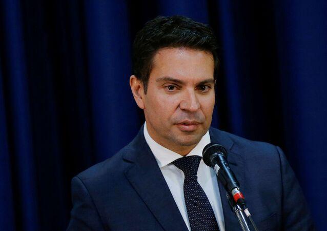 Diretor-geral da Agência Brasileira de Inteligência (Abin), Alexandre Ramagem, durante posse em Brasília
