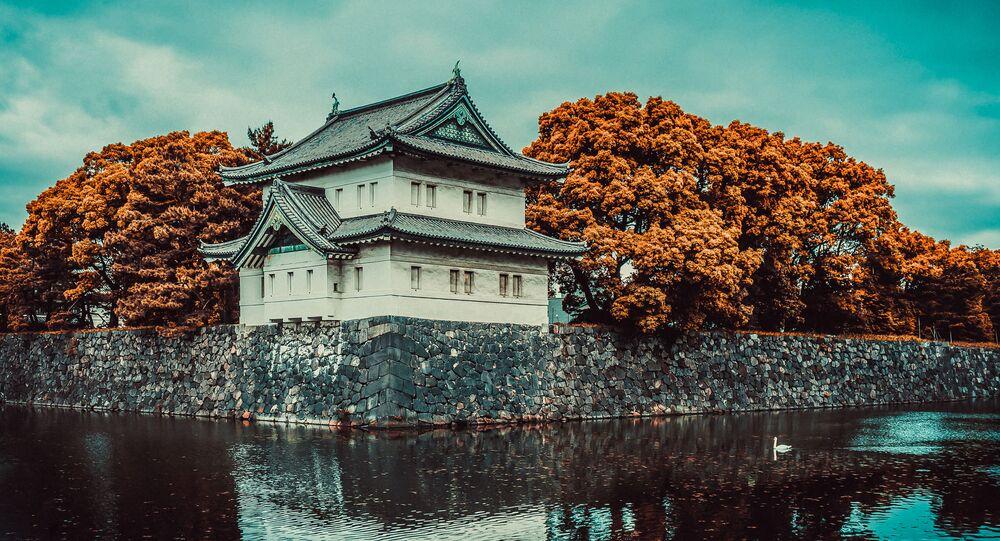 Palácio Imperial de Tóquio, no Japão