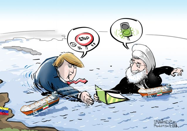 Trump perdendo 'batalha naval' para Irã