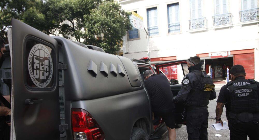 Polícia Civil realizando operação no Rio de Janeiro (foto de arquivo)