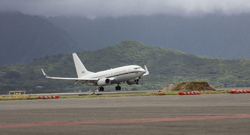 Avião C-40 Clipper da Marinha dos EUA