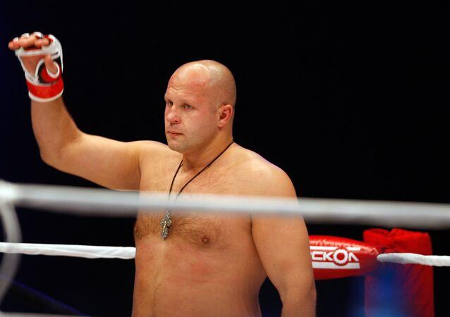 Fyodor Emelianenko, lutador russo do MMA