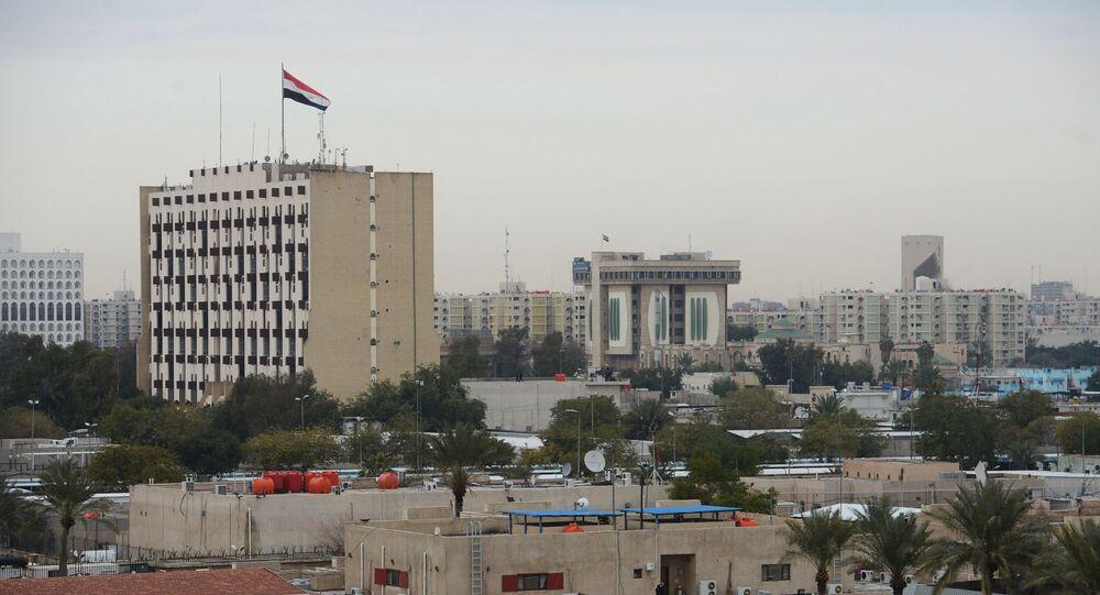 Zona Verde em Bagdá