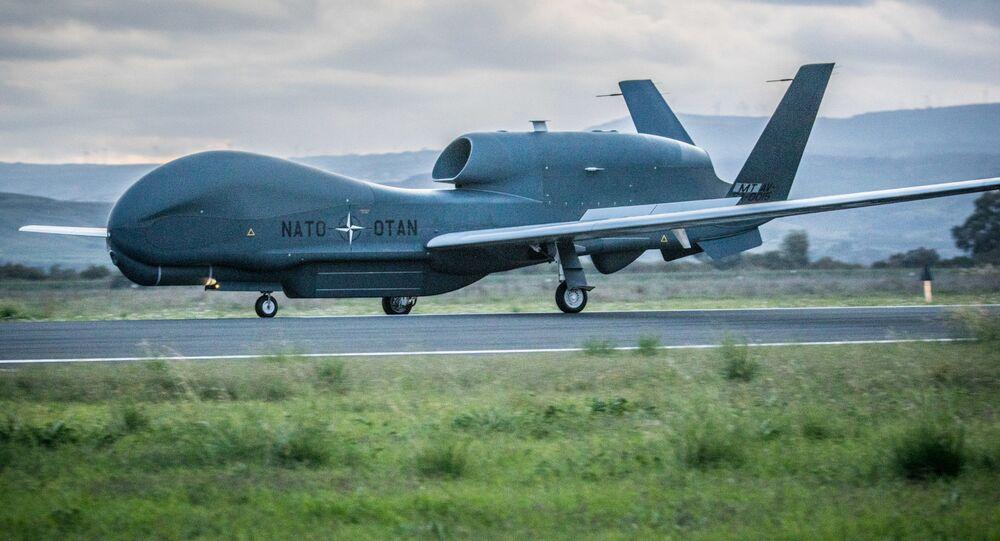 Drone RQ-4D da OTAN
