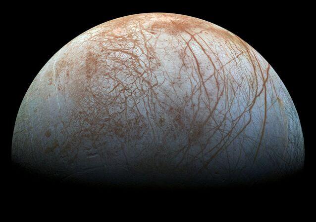Imagem do Europa, satélite de Júpiter