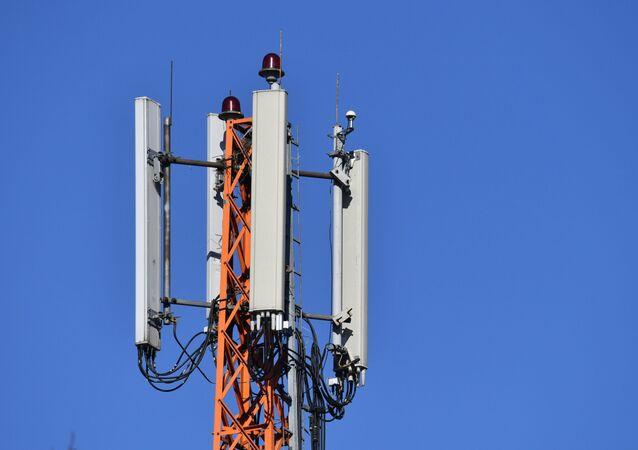 Torre de rede de telefonia celular