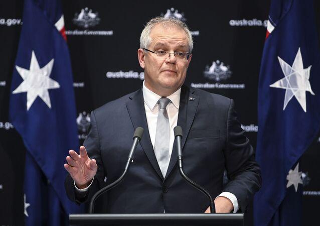 Primeiro-ministro australiano Scott Morrison