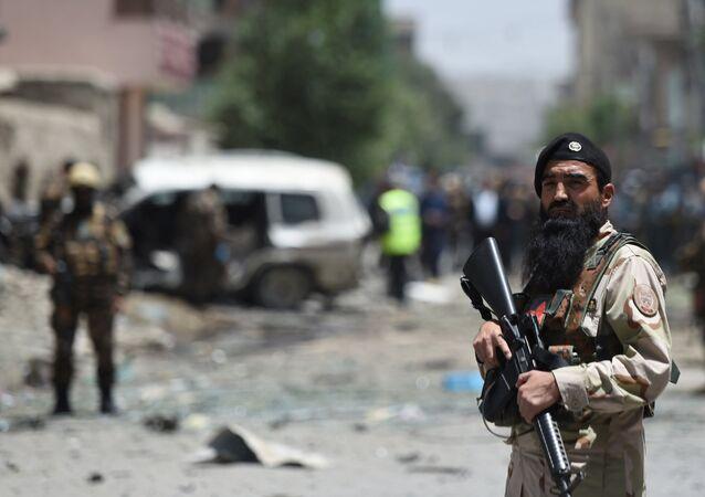 Forças de segurança afegãs