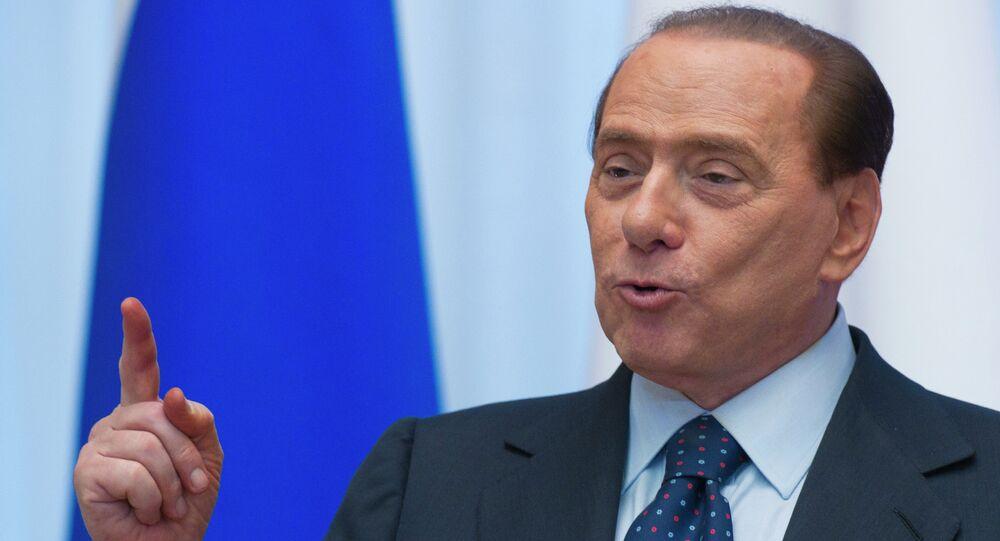 Silvio Berlusconi, ex-primeiro-ministro da Itália