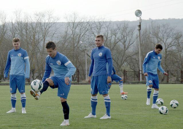 Jogadores do FC Sevastopol