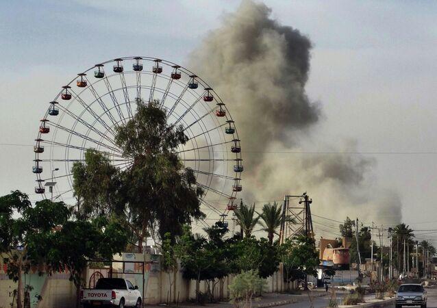Cidade de Ramadi, capital da província de Al Anbar, no Iraque