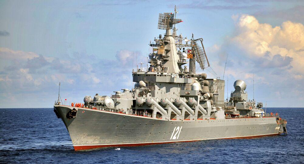 Crucero lanzamisiles Moskva