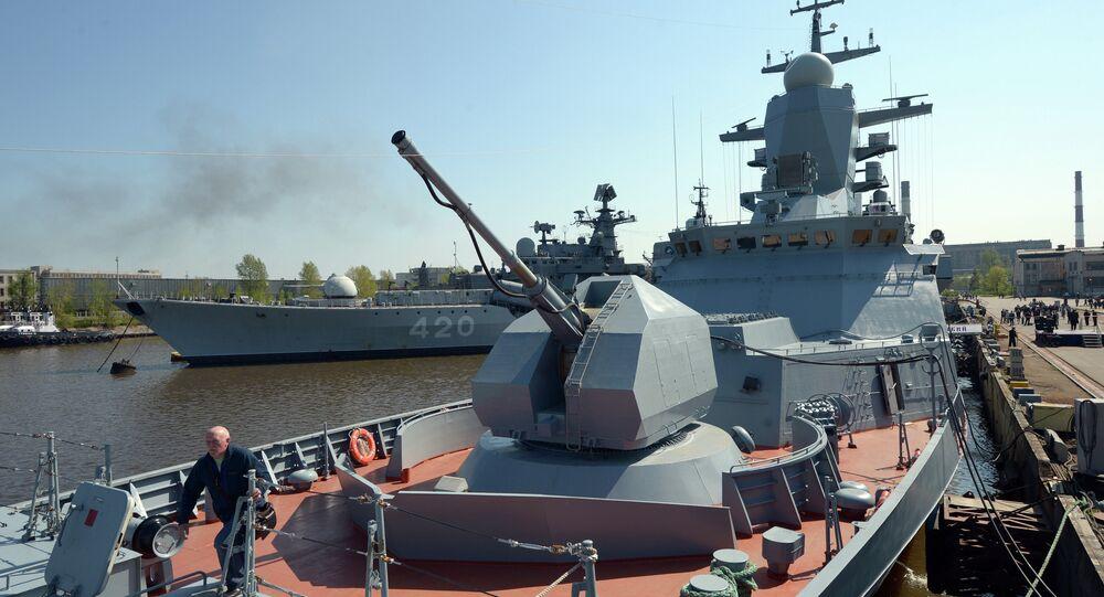 A corveta Boiky foi entregue à Frota do Báltico.