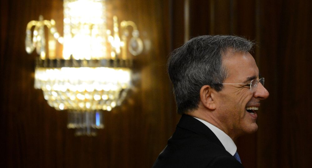 Thierry Mariani, deputado do partido Les Républicains que encabeçou a delegação francesa na Crimeia em julho de 2015