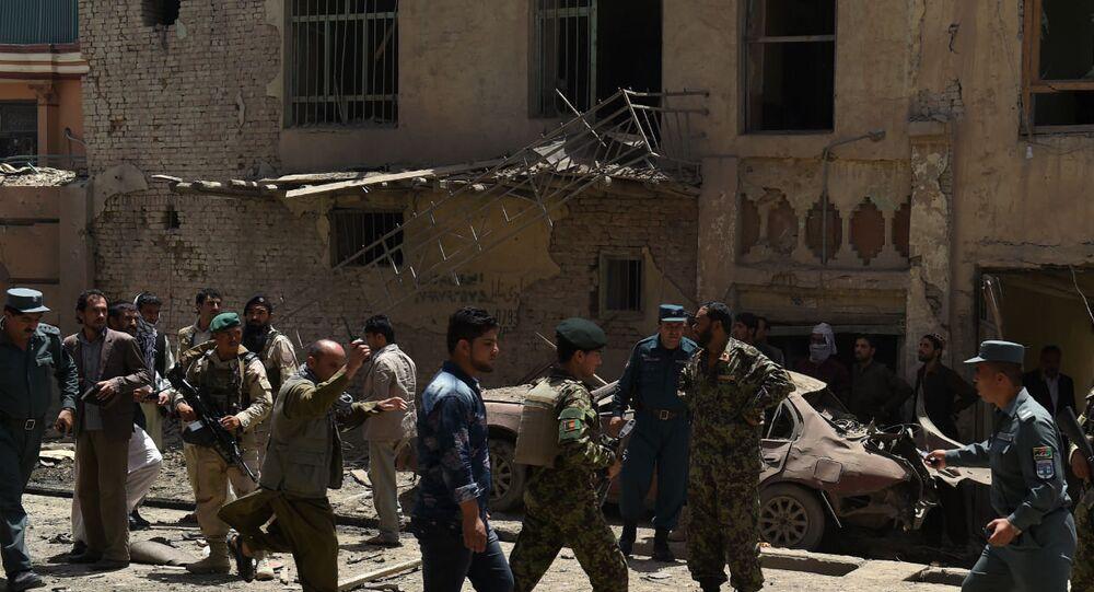 O Afeganistão foi alvo de muitos ataques de grupos ilegais em julho.