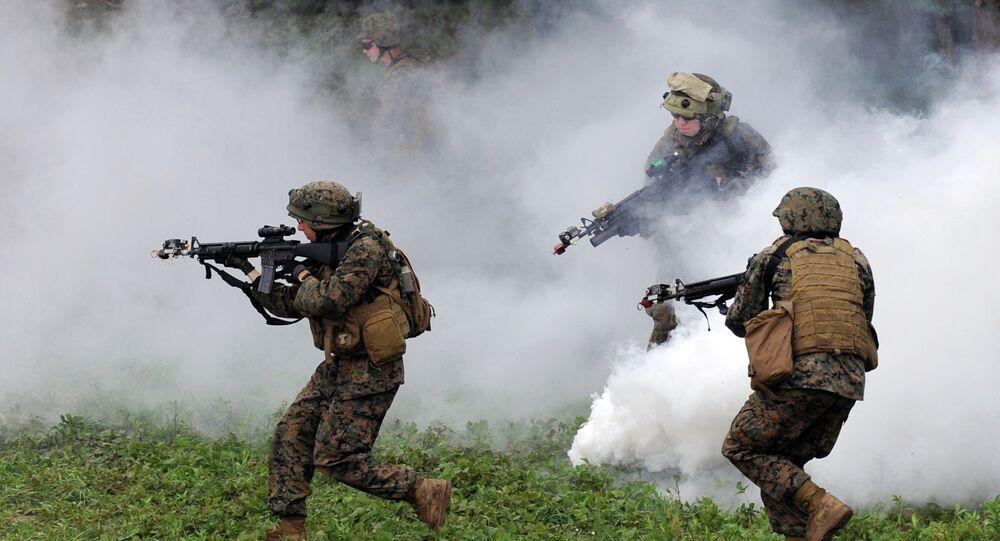 Militares de la OTAN en Ucrania
