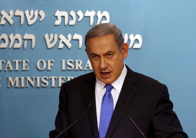 Primeiro-ministro israelense Benjamin Netanyahu