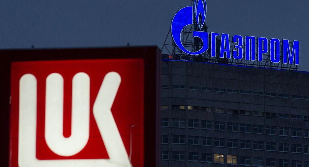 Gazprom e Lukoil