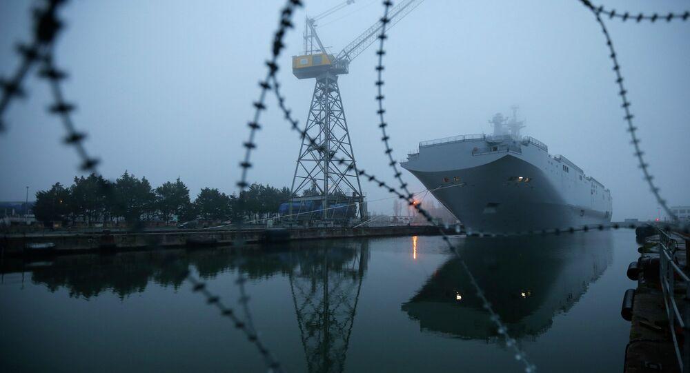 Navio classe Mistral