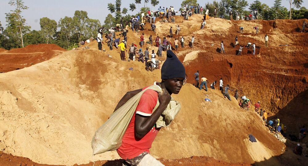 Minería de oro en Kenia