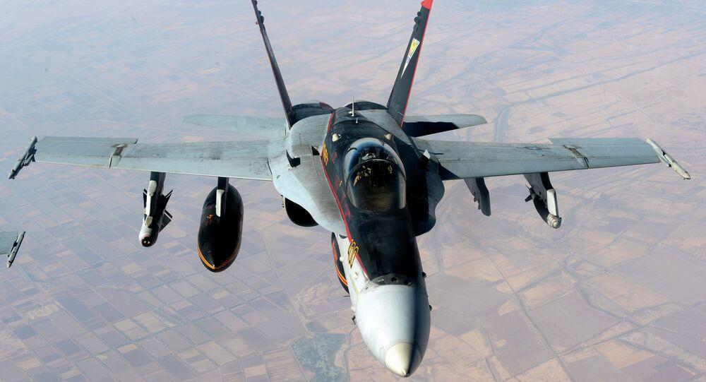 F-18E Super Hornet da Força Naval dos EUA
