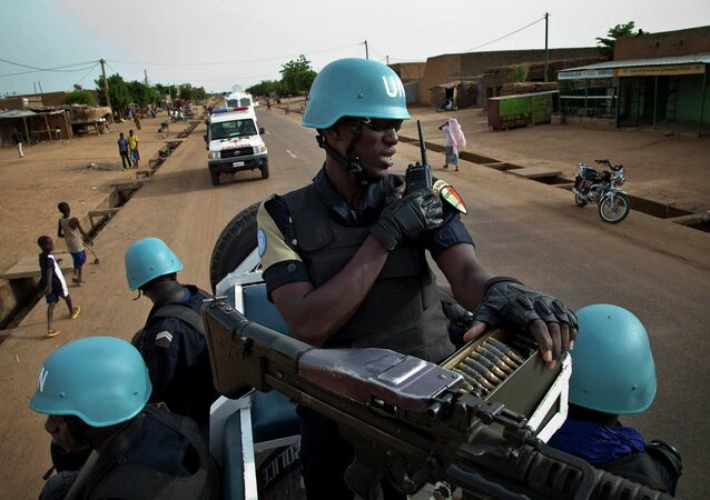 Soldados da MINUSMA no Mali (arquivo)