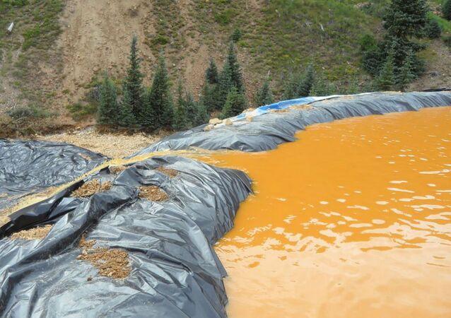 Contaminação química (imagem referencial)