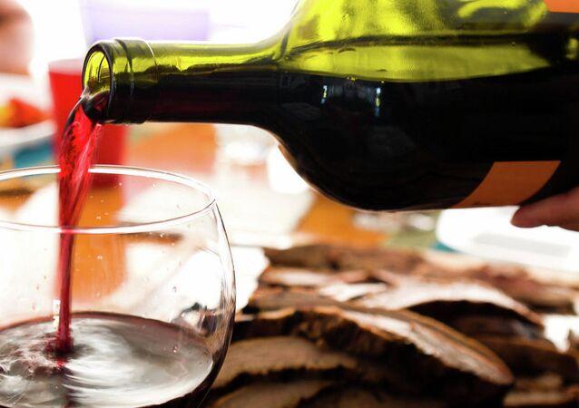 Vinho de mesa. Foto de arquivo