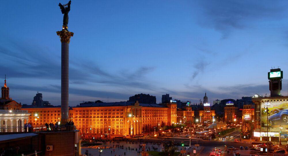 Vista de Kiev, capital da Ucrânia