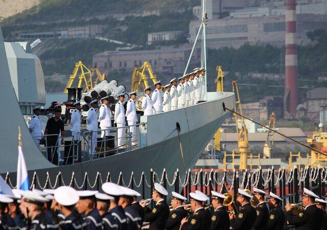 Exercícios navais russo-chineses 'Cooperação Marítima-2015(II)