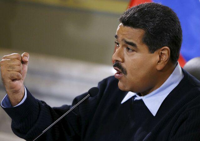 O presidente da Venezuela, Nicolás Maduro.