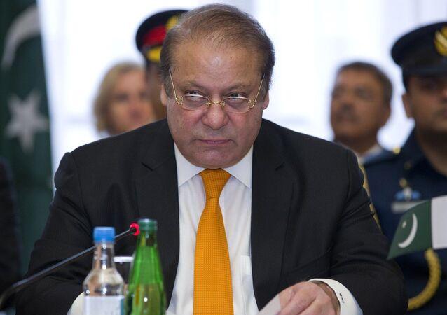 Primeiro-ministro do Paquistão Nawaz Sharif