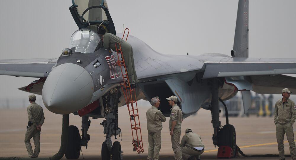 Caça russo Su-35