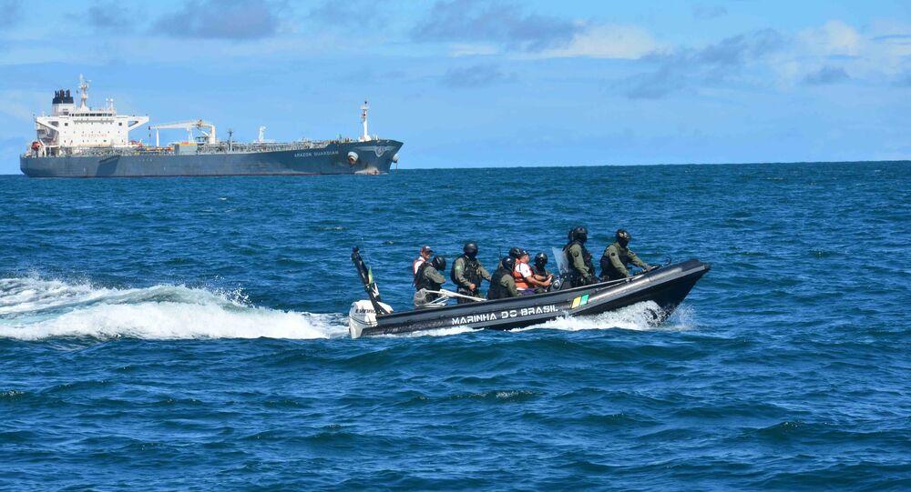 Embarcações da Marinha do Brasil (arquivo)