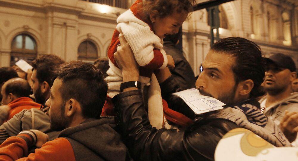 Refugiados do Oriente Médio na Hungria