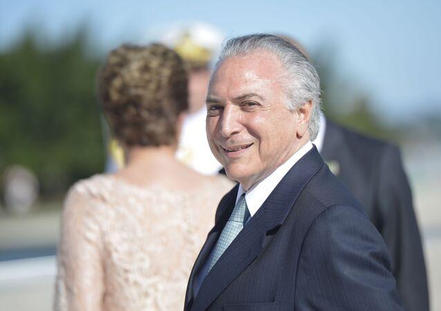 O vice-presidente do Brasil, Michel Temer