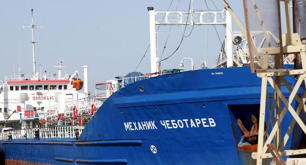 Petroleiro russo Mekhanik Chebotarev