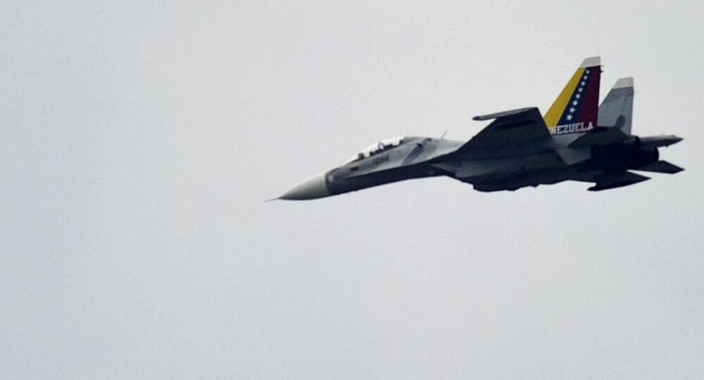Su-30 da Força Aérea da Venezuela.