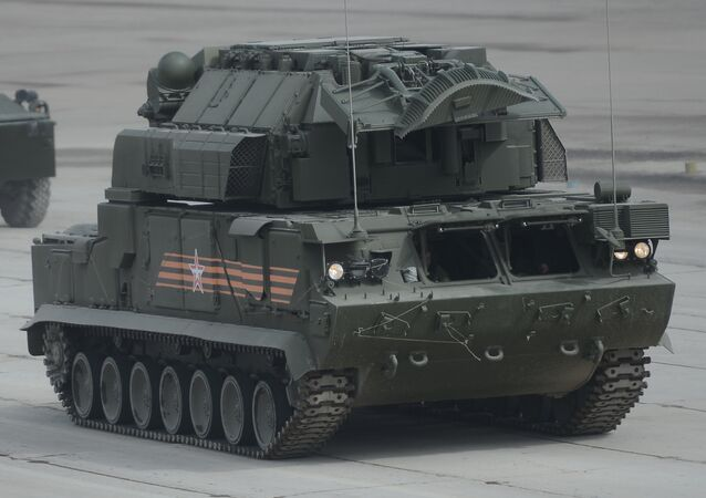 Sistema antiaéreo Tor-M2U.