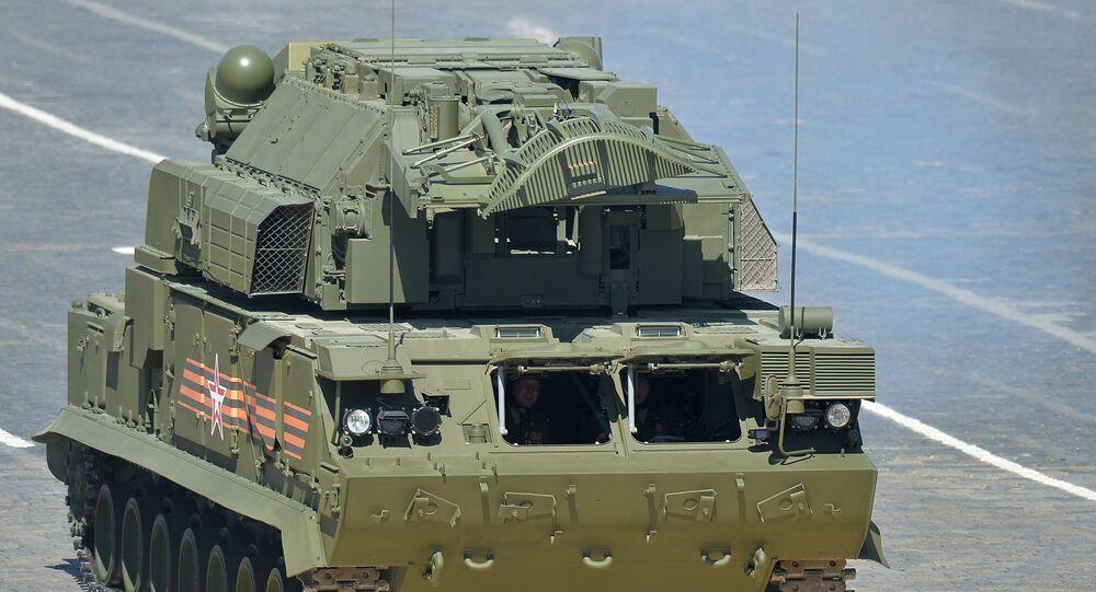Sistema de defesa terra-ar TOR-M2U/SA-15 Gauntlet