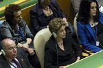 Dilma Rousseff, em sessão da Assembleia Geral da ONU em Nova Iorque