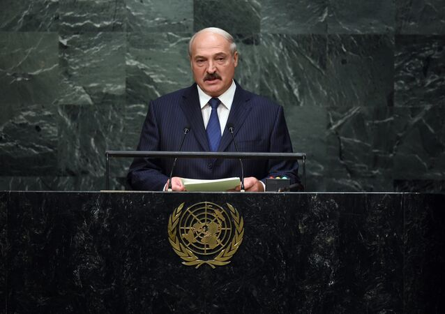 Presidente da Bielorrússia Aleksandr Lukashenko