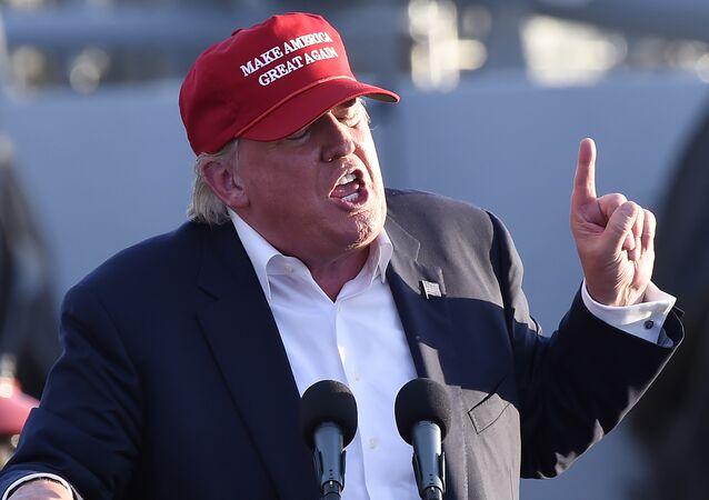 Donald Trump, bilionário e candidato à presidência nos Estados Unidos