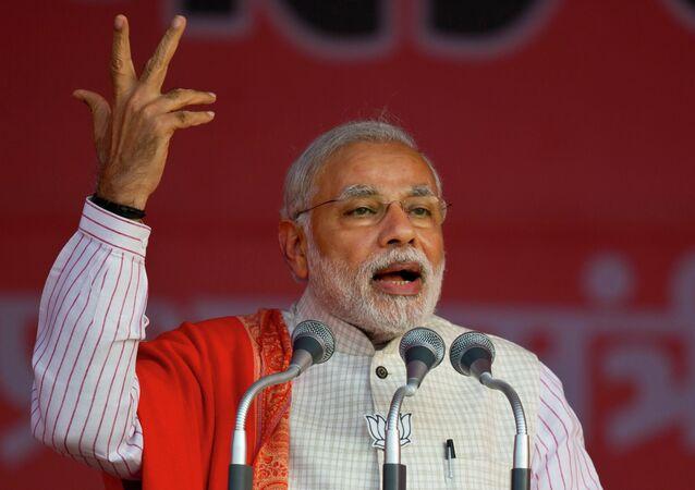 Primeiro-ministro da Índia Narendra Modi