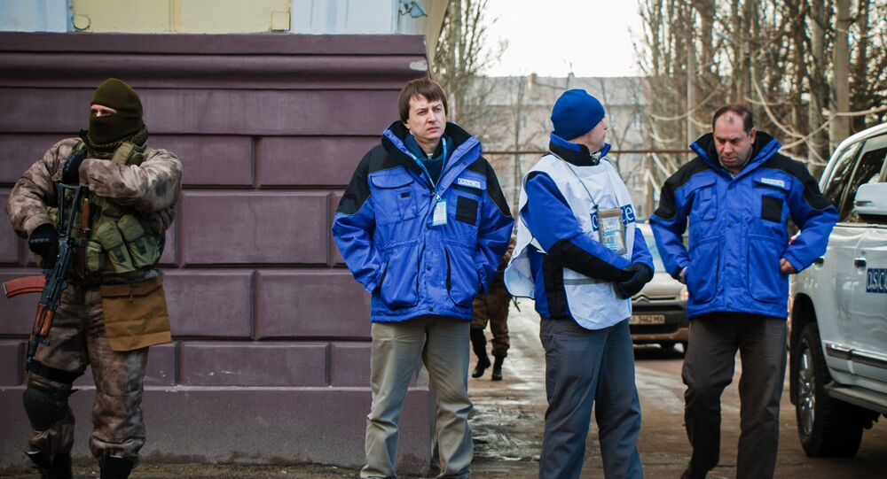 Missão da OSCE em Donetsk