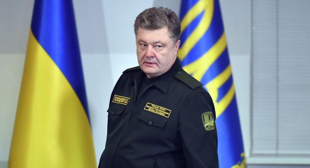 Presidente ucraniano Pyotr Poroshenko, Ucrânia, Kiev
