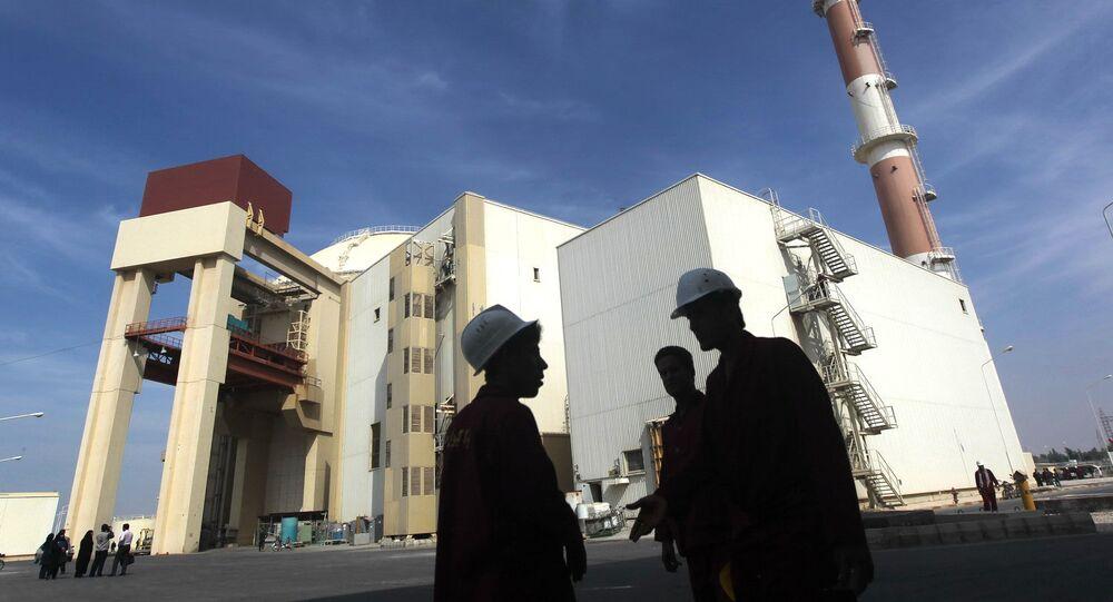 Centro nuclear iraniano de Bushehr (foto de arquivo)