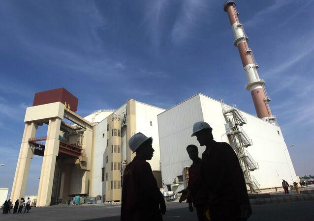 Usina nuclear em Bushehr, Irã